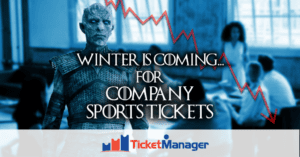 Winter is coming for company sports tickets
